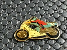 PINS PIN BADGE CAR MOTO BIKE NGK CASTROL