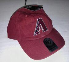 MLB Arizona Diamondbacks Clean Up Adjustable Hat '47 Brand Razor Red One Size