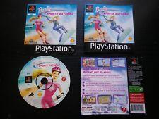 JEU Sony PLAYSTATION PS1 PS2 : BARBIE SPORTS EXTREME (complet, envoi suivi)