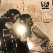 (LADY GAGA) SOUNDTRACK - A Star Is Born - New  2 x Vinyl Lp +10 Photo Prints