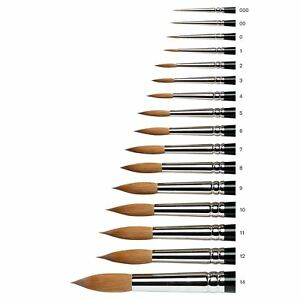 Winsor & Newton Series 7 Kolinsky Sable Watercolour Paint Brushes