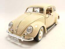 VW Coccinelle 1955 beige, Modèle de voiture 1:18 / Burago