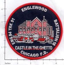 Illinois - Chicago Engine 84 Truck 51 Battalion 18 IL Fire Dept