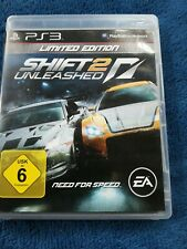 Need For Speed Shift 2 Unleashed Limited PS3 Spiele Sammlung PlayStation 3