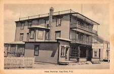 Cap Chat Quebec Canada Hotel Pelletier Exterior View Antique Postcard J68686