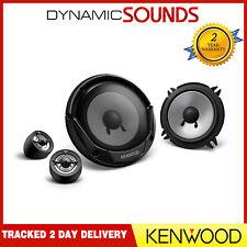 "Kenwood kfc-e130p 5.25"" 13 Cm 250 W 2 Way Component Car Audio Speakers"