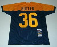 PACKERS Leroy Butler signed jersey w/ GBP HOF 2007 JSA COA AUTO Autographed