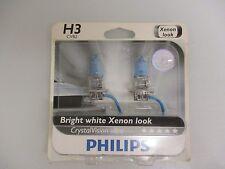PHILIPS CRYSTAL VISION H3 CVB2 BULBS XENON LOOK