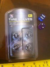 Mugen Power Tyres Valves Valve Cap Decorate Car Wheel Wheels Logo Motif 4Pcs New