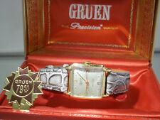 Vintage art deco Gruen Precision Veri-Thin Herrenarmbanduhr - Doctors watch