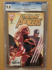 New Avengers #17 Brian Bendis story Ms. Marvel 2006 CGC 9.8 WH NM/MT