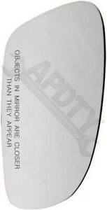 APDTY 67942 Replacement Glass - Plastic Backing Replaces 1C1857522C