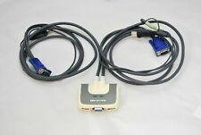IOGEAR 2 Port Compact USB KVM Switch With Audio, GCS632U.