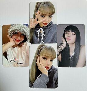 [BLACK PINK LISA ] LISA First Single Album Ktown4u Benefit Photocard LALISA