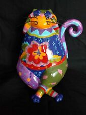 Joyce Shelton Scaredy Cat Collectibles Colorful Gift  Catitudes