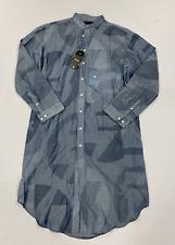 G-Star Raw Core Bolsillo Camisa De Vestir Azul Marino pequeño (S) * REF84