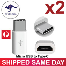 Samsung S8 USB 3.1 Type-C Male to Micro USB Female Converter USB-C Cable Adapter