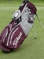 Titleist Lightweight Stand Bag Eggplant/Grey/Silver **Price Reduced**  NEW 5502
