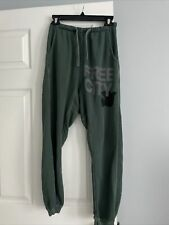 Free City Green Sweatpants Small