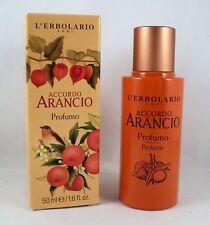 L'Erbolario Perfume Accordo Arancio 50ml Man Woman Unisex Citrusy Vanilla Sugar