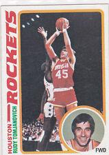 RUDY TOMJANOVICH 1978-79 TOPPS BASKETBALL CARD #58  NR MINT