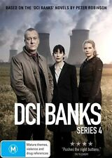 DCI Banks: Series 4 (DVD, 2-Disc Set)  Region 4 - Very Good Condition