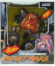RAMPAGE; 1998 Kenner; Beast Wars Transformers; Brand New MISB, transmetals