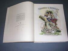 Claude Farrère Thomas l'Agnelet 1943 1/50 ex. Sur Japon signé gravures couleurs