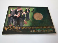Harry Potter and the Sorcerer's Stone Practice Broom Prop Card Wood HP SS /450 +
