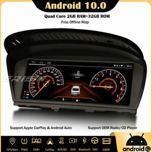 Android 10 Car Stereo SatNav BMW 3/5/6 Series E90 E91 E92 E93 E60 E61 E63 E64 SD