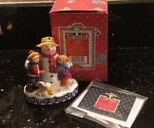 1999 Mary Engelbreit Enesco Happy Winter Figure #986046 New in Box
