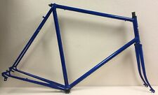 SUPER MONDIA FRAME AND FORK 62 CM REYNOLDS TUBING CAMPAGNOLO DROPOUTS
