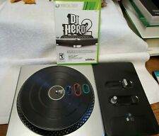 DJ Turntable w/DJ HERO 2 XBOX 360