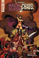 Hack Slash Vs. Chaos Comic 4 Modern Age First Print 2019 Tim Seeley Celor Duke