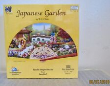 "Japanese Garden Puzzle 90118 by T.C. Chiu New 1000pc  22"" x 39""  Sealed"