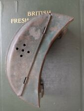 Vintage Fishing Live Bait Tin With Hinged Lid And Belt Loops A True Collectible