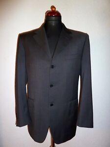 ☆  CANALI LuXuS Sakko Jacket Coat Dunkelgrau Gr. 52 R TOP ☆