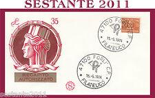 ITALIA FDC FILAGRANO RECAPITO AUTORIZZATO 1974 ANNULLO FORLì H177