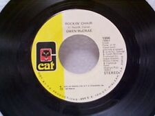 "GWEN McCRAE ""ROCKIN CHAIR / IT KEEPS ON RAINING"" 45"