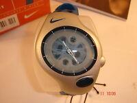 Nike Triax Analogue Super Sports Blue Watch Unisex Adult Child 20-401 BOGOF RARE