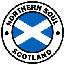 NORTHERN SOUL - SCOTLAND - CAR TAX DISC HOLDER - REUSABLE - BRAND NEW