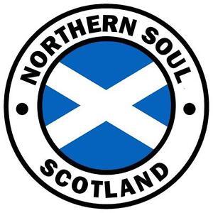 NORTHERN SOUL - SCOTLAND - CAR TAX DISC HOLDER - REUSABLE - BRAND NEW