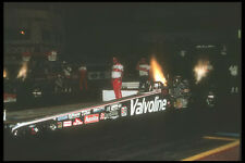 273008 Burnt Nitromethane From A T F Dragster Lights Up The Sky A4 Photo Print