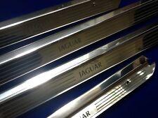 Jaguar XJ6 LWB Tread Plates xj12 Door Sills Etched Logo Stainless steel