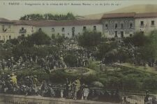COLOMBIA PASTO INAGURACION DE LA ESTATUA DEL GRAL ANTONIO NARINO N° 3 NAVARRETE