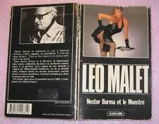 Nestor Burma et le monstre de Léo Malet