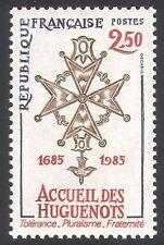France 1985 Huguenots/CROIX/HISTOIRE/Gens/HERITAGE/emblème 1 V (n40705)