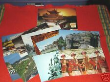 LOT OF 12 PACKS (10 in each) SPLENDID CHINA POSTCARDS