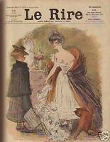 1905 Le Rire August 5- French Humor - Leandre, Iribe
