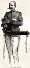 PROCESSO EMILE ZOLA:L'ACCUSATORE:ESTERHAZY.Tribunale.Giudici.Avvocati.Legge.1898
